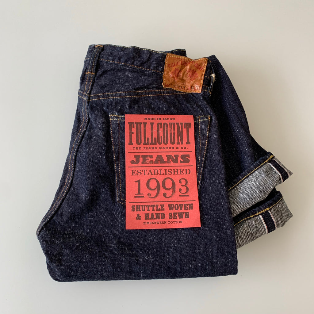1108SLW 14.5oz. Selvedge Slub Yarn Narrow Straight Denim