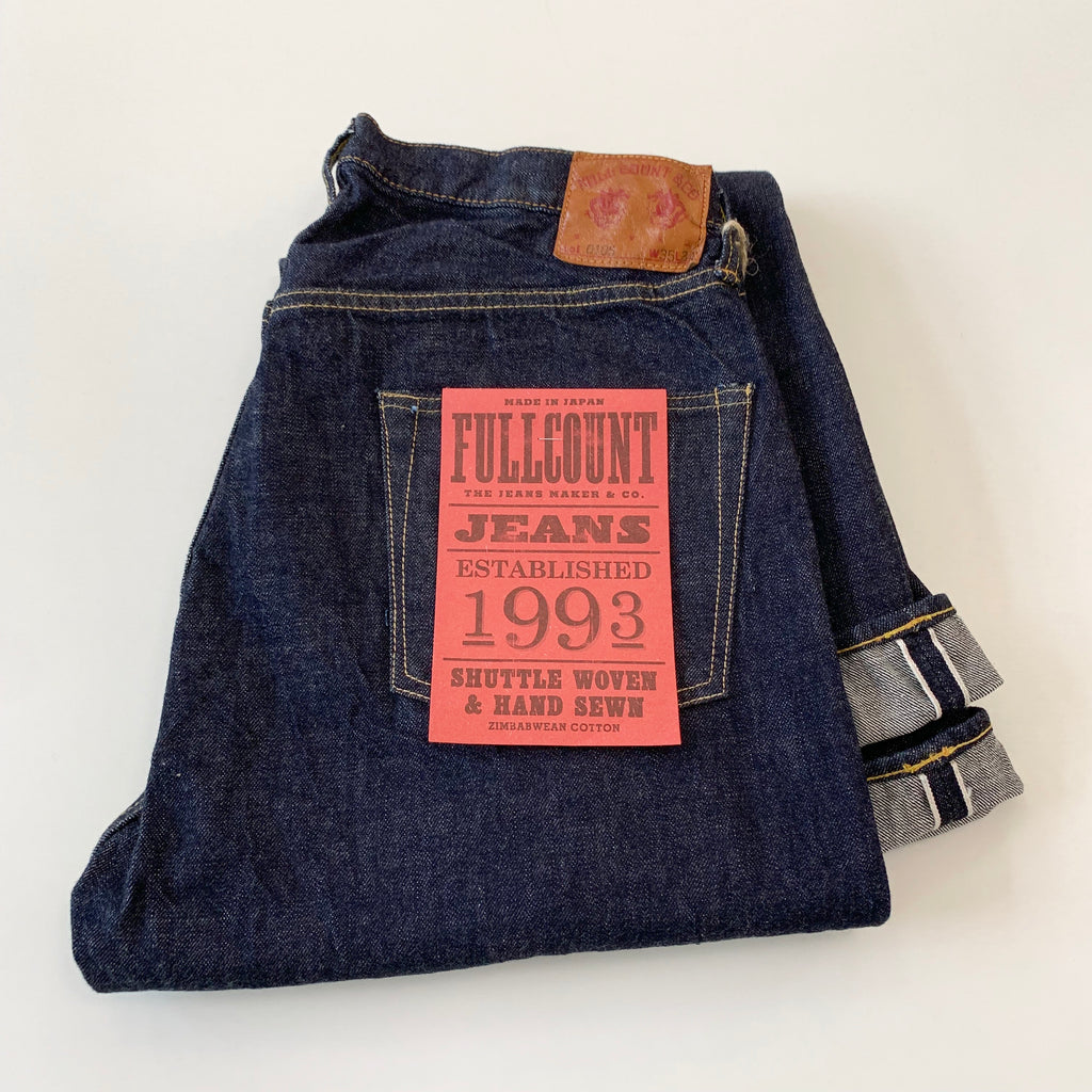 0105W 13.7oz 1953 Selvedge Loose Straight Denim