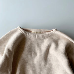 EQP001 Crew Neck Long Sleeve in Oatmeal