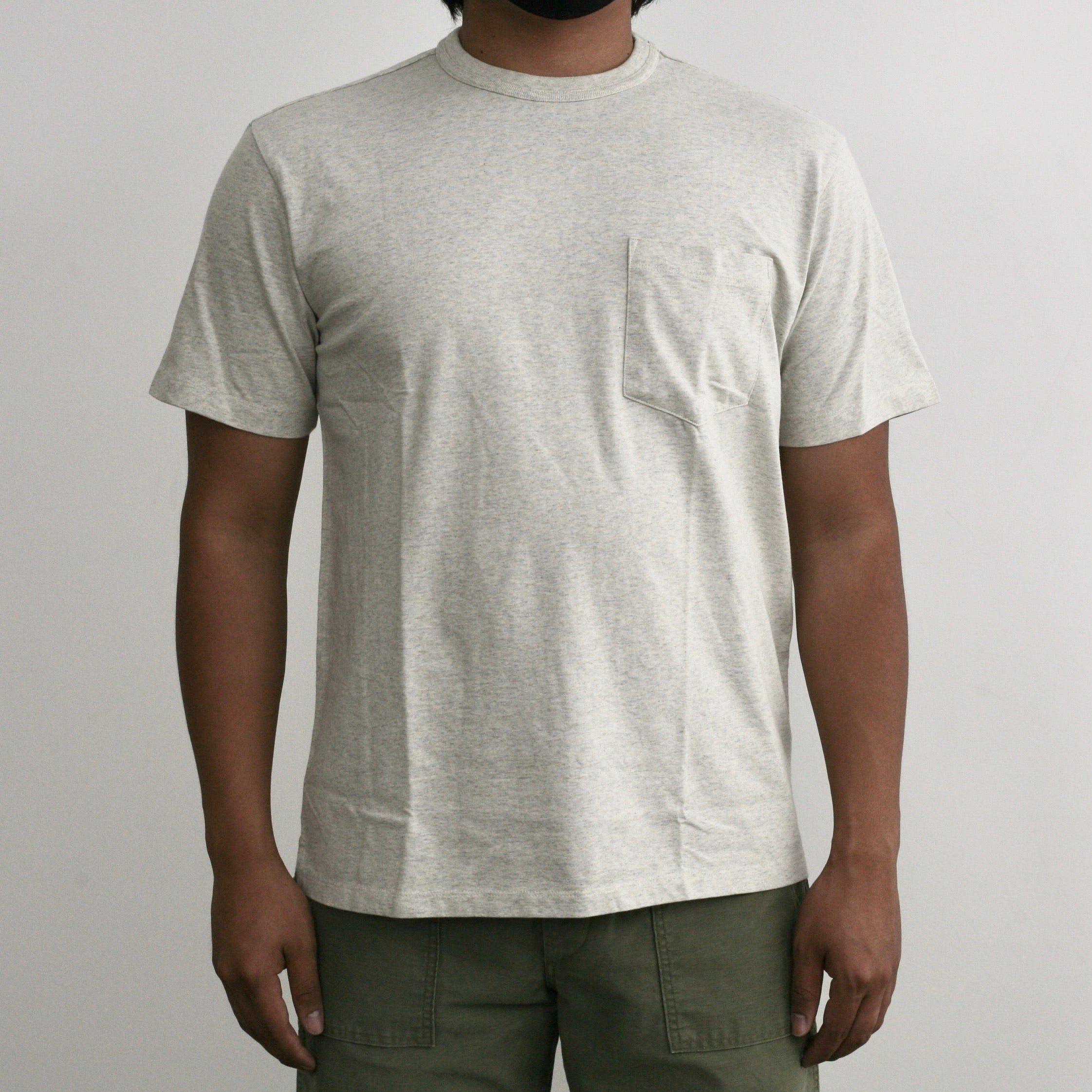 One Pocket T-Shirt in Oatmeal