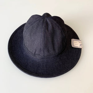 Fatigue Hat in Indigo Denim