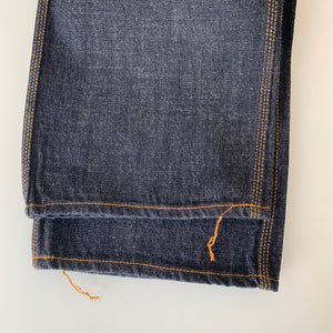 1604 14.5oz Waist Overall Dirt Denim - One Wash