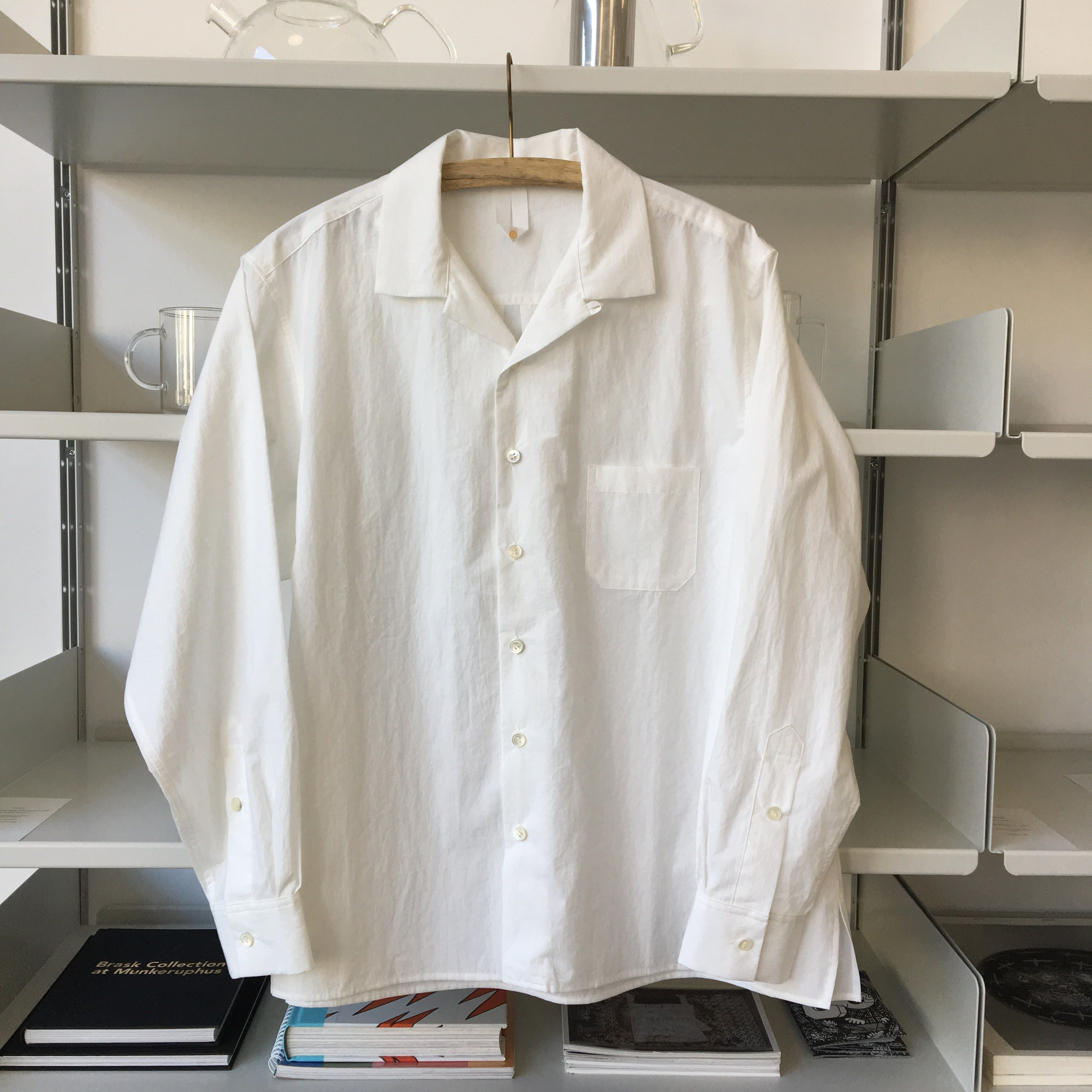 Fabric Shirts in White