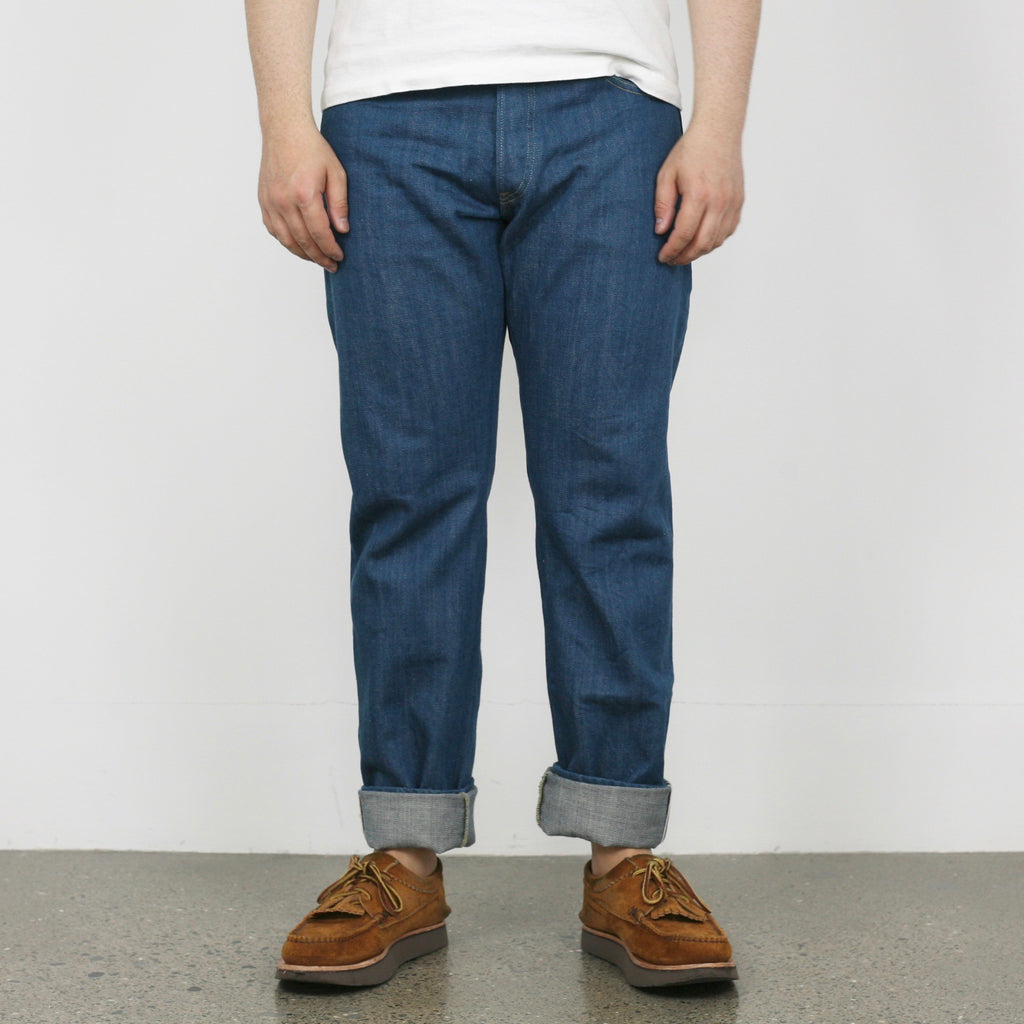 "KHT"" Kaze"" High Tapered 13oz Selvedge Denim"