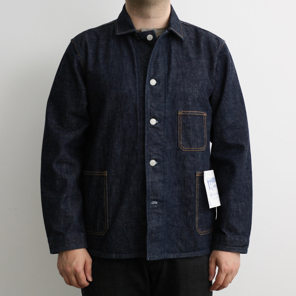 2504 Authentic Denim Coverall in Indigo