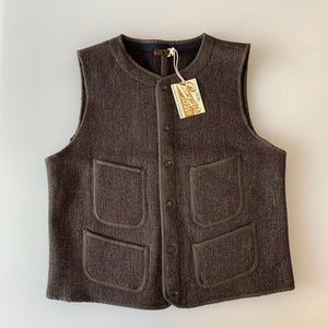 Ltd. Ed. Brown's Beach Early Vest in Oxford Grey