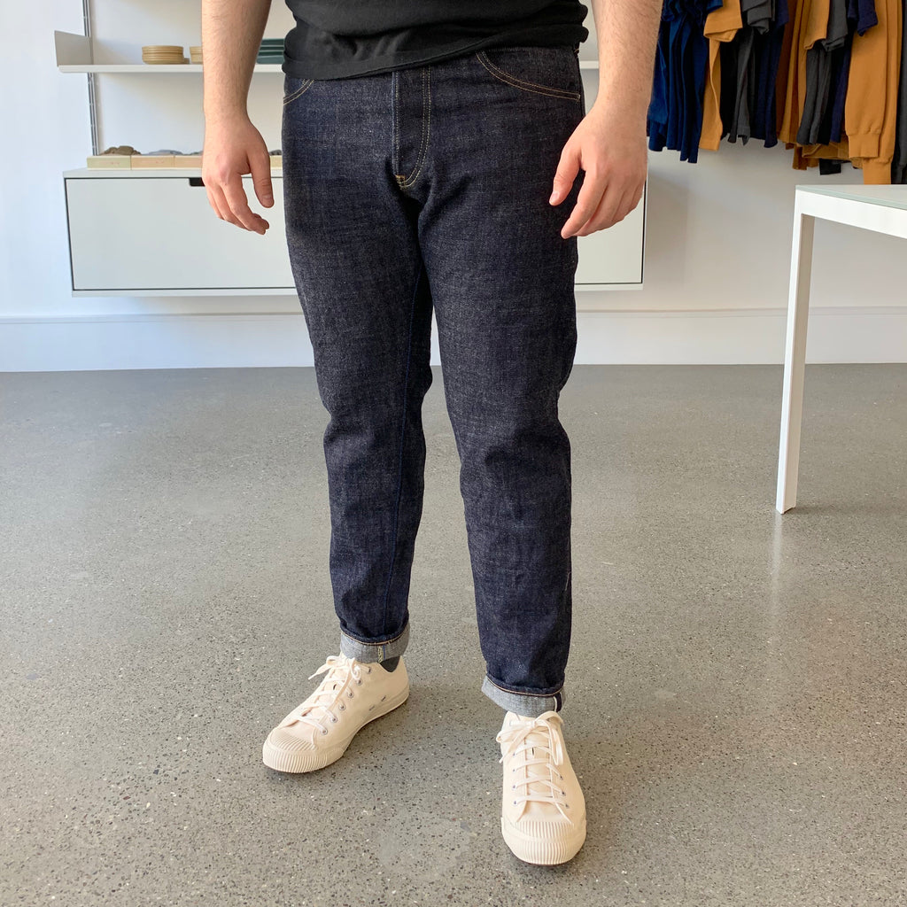 Limited Edition ZDT - Zetto Draft Tapered 14.5oz Selvedge Jeans