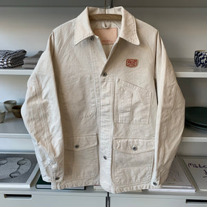 Painter Jacket in Ecru Japanese Twill