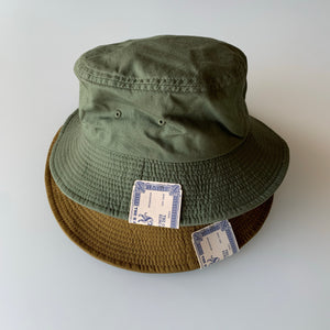 Moleskin Bucket Hat in Coyote