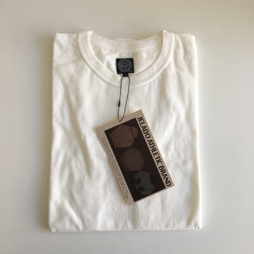 Vintage Loopwheel Tee in Off-White