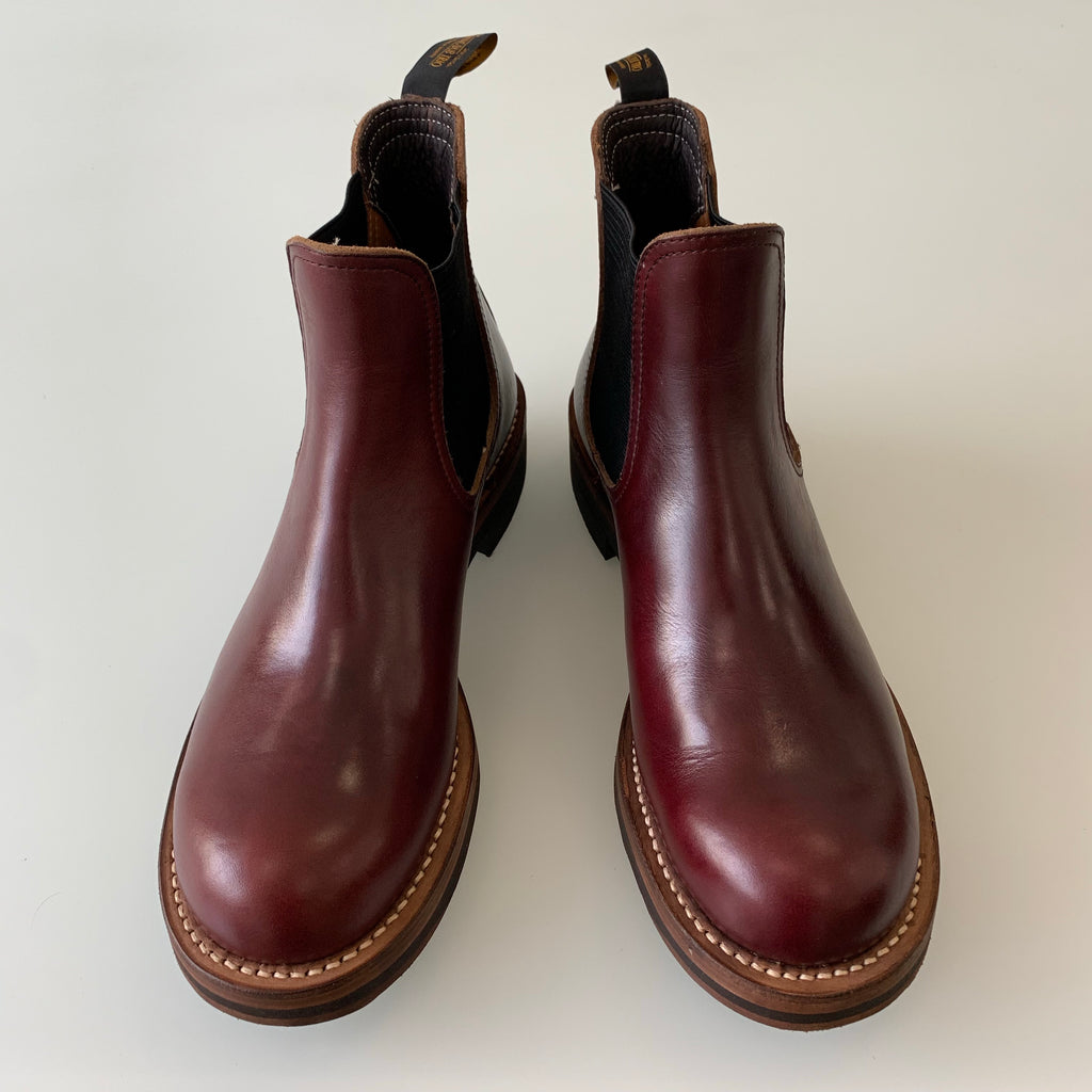 Rolling Dub Trio - Stan in Oil Burgundy Horween Chromexcel