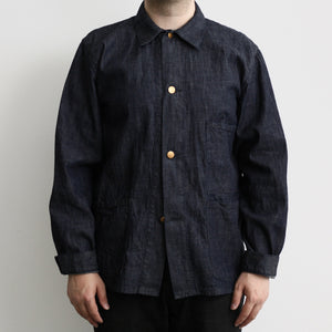 Ltd. Ed. -  1930's French Work Coverall in 8oz Indigo Denim