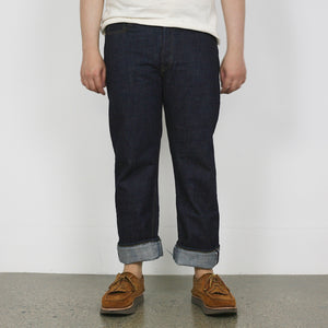 Ltd. Ed. - 1108SLW 14.5oz. Selvedge Slub Yarn Narrow Straight Denim - One Wash