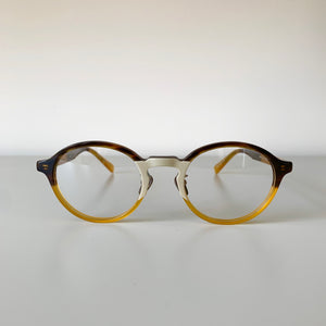KJ-08 in Beige Half - Biodegradable Cellulose Acetate and Titanium