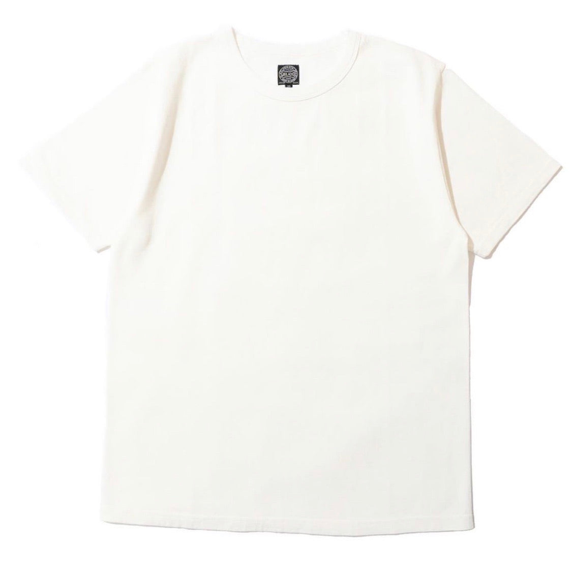 Vintage-Spec Tsuri-Ami Loopwheel Tee in Off-White