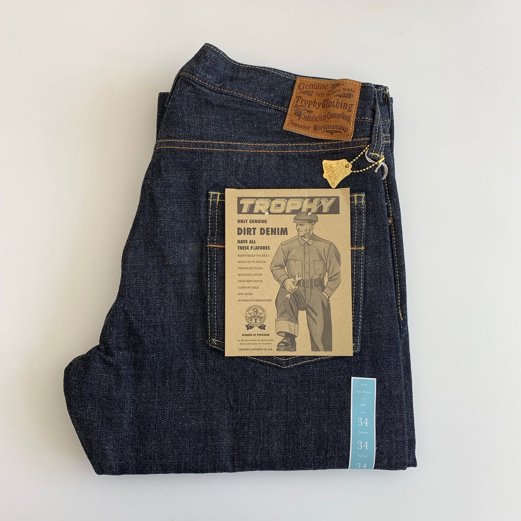 1607 Narrow Dirt Denim - One Wash