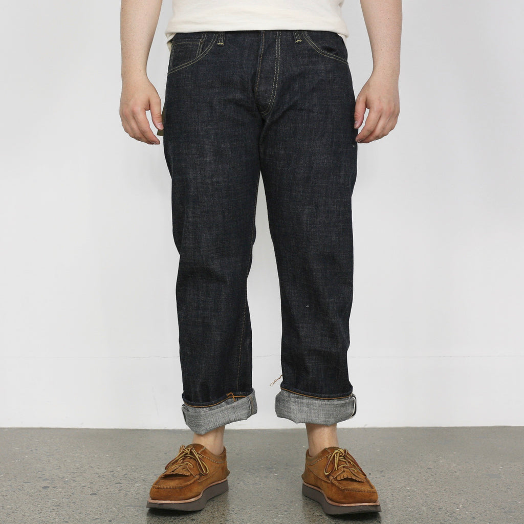 1607 14.5oz Narrow Dirt Denim - One Wash