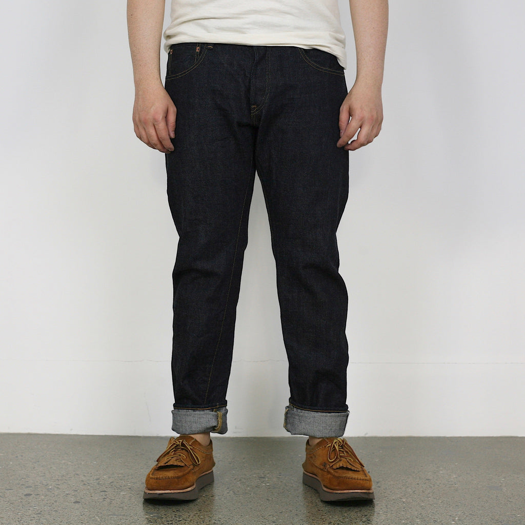 14oz Red-Cast Selvedge 113KD - Relax Tapered