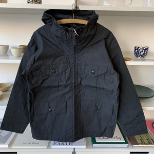 Field Hood Jacket 50/50 in Black