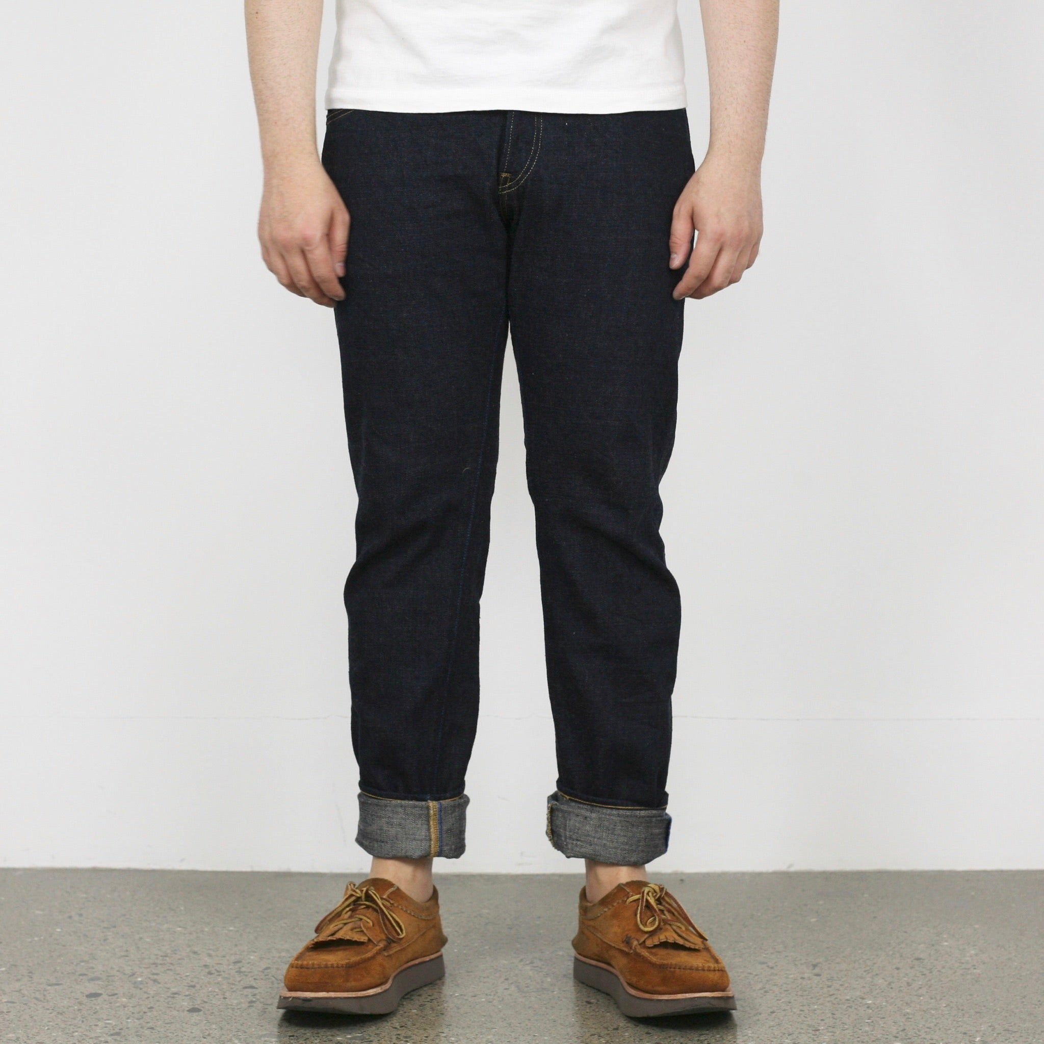 "THT ""天 (Ten)"" High Tapered 12.5oz Selvedge Jeans"