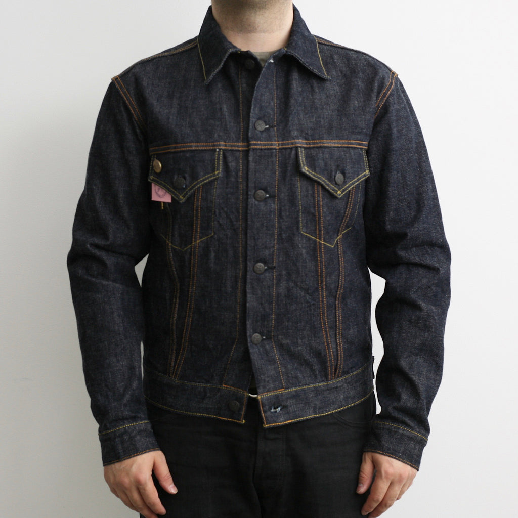 Premium TK993C Type III Natural Indigo Selvedge Denim Jacket