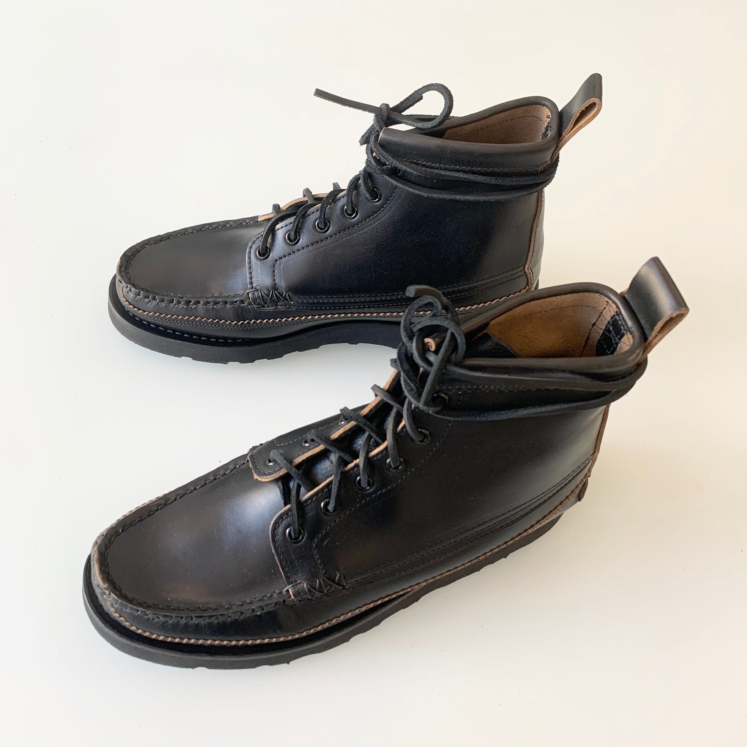 Maine Guide 6 Eye DB Boots in G Black