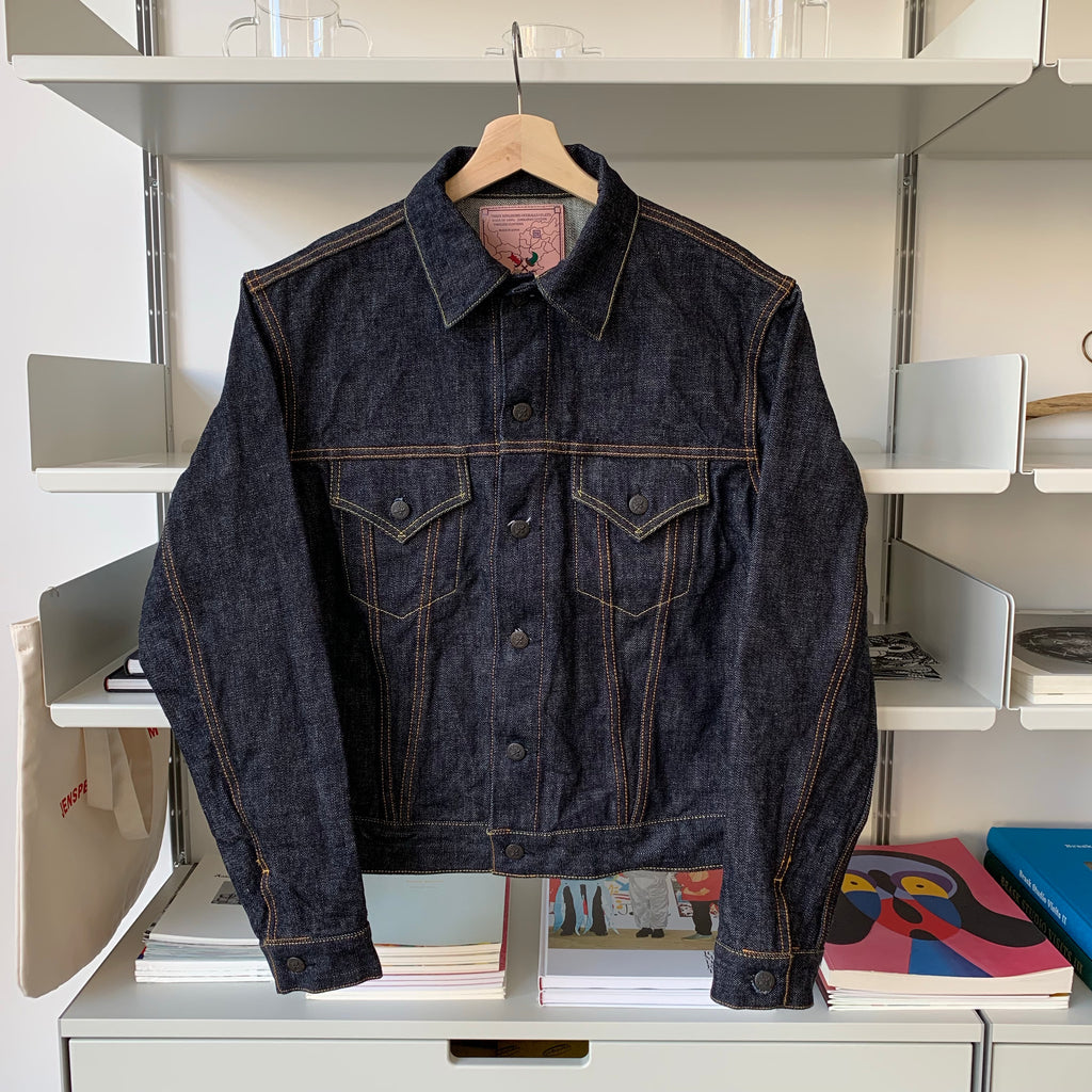 Premium TK993C Type III Natural Indigo Denim Jacket