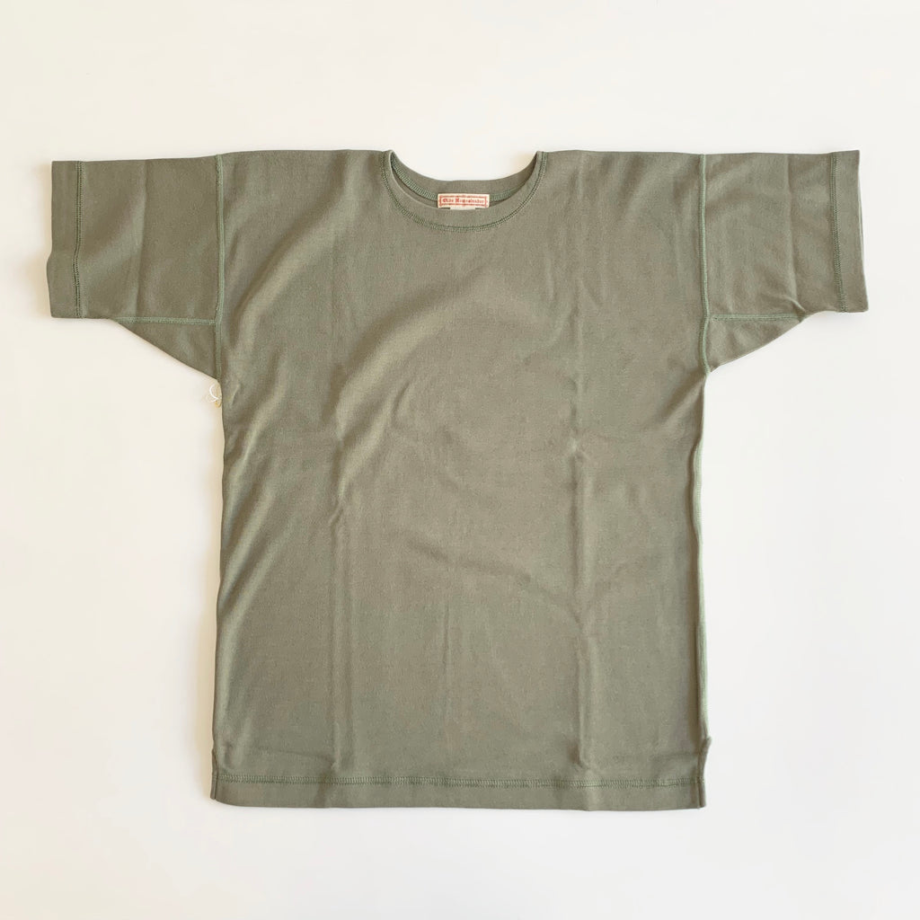 US007 Crew Neck Short Sleeve in Olive