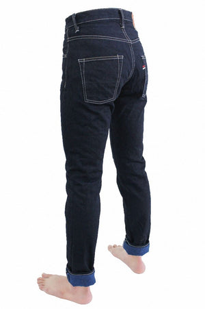 "YUHT ""Yurai"" Natural Indigo High Tapered 16.5oz Selvedge Jeans"