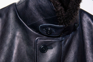 Pre-Order: Indigo Dyed Horsehide Type N-1 Jacket (IN-1)