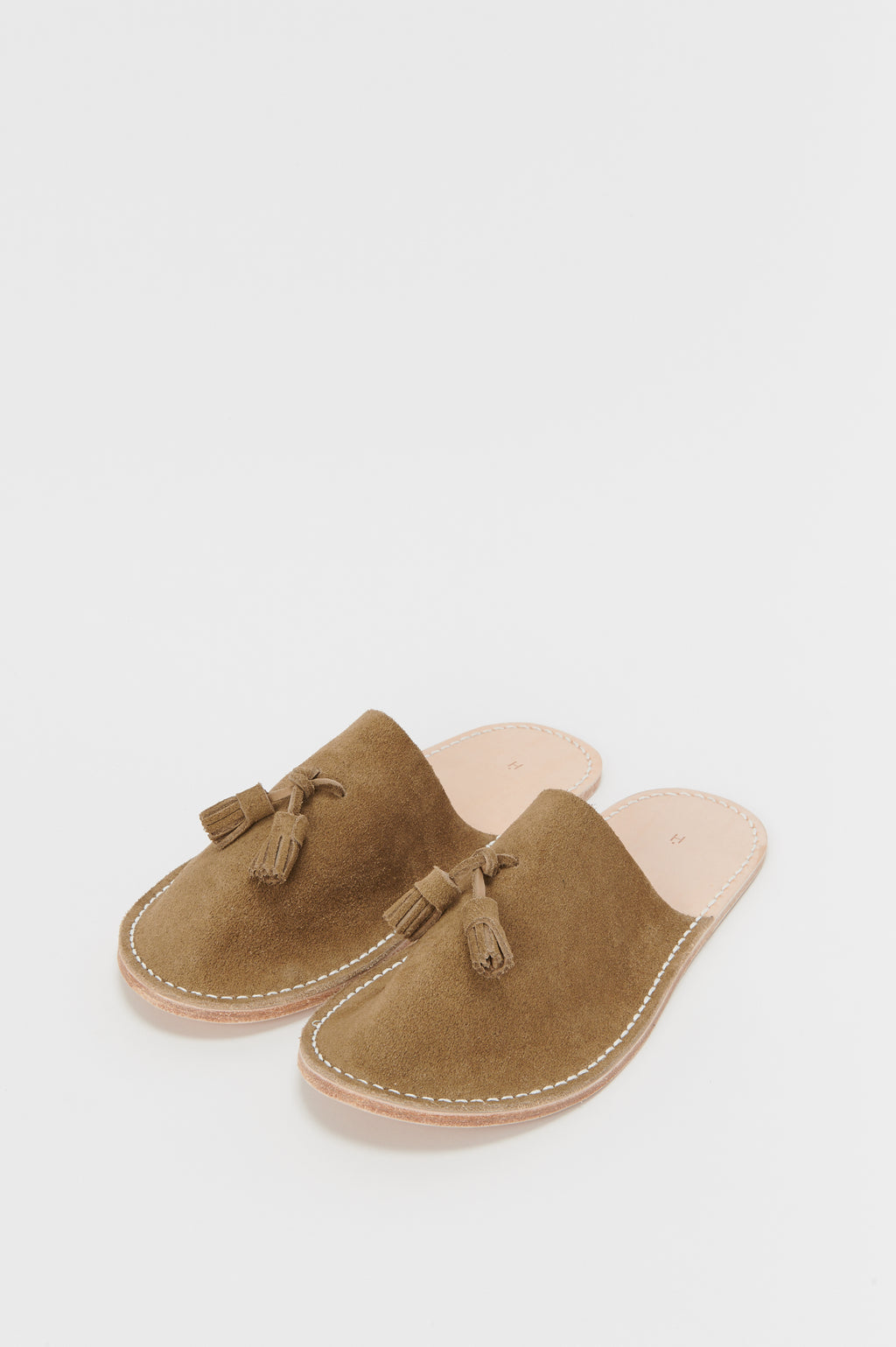 Coming Soon: Leather Slipper in Khaki Beige