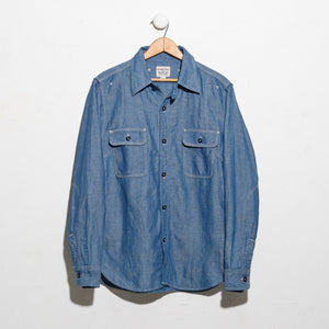 Triple-Stitch Work Shirt in Chambray 770WS