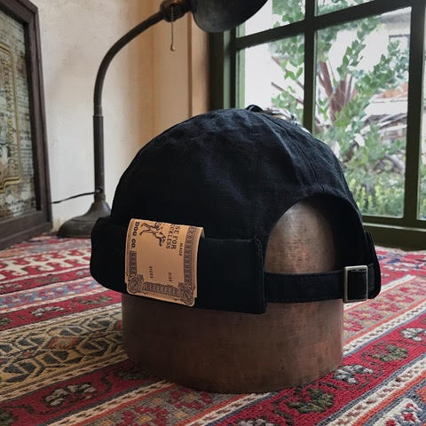 Indigo Denim Roll Cap