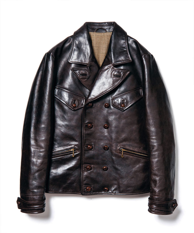 Hand Oil Horsehide 1930's German Sports Jacket (YK-01)