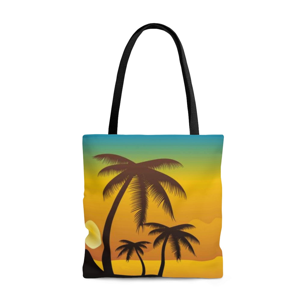 Tropical Sunset Tote Bag - B Inspired Boutique