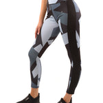 Bondi Leggings - Black/Grey - B Inspired Boutique