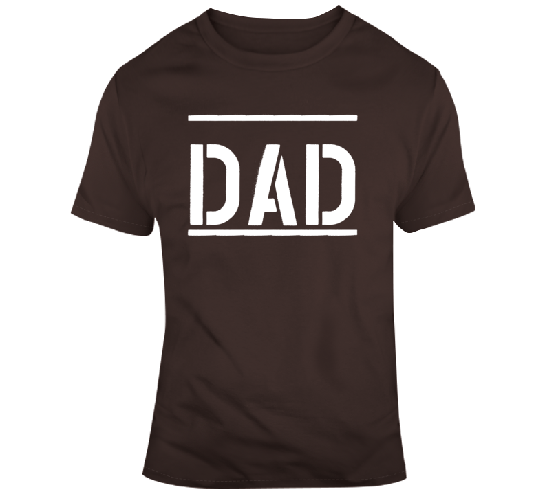 Dad - Dark Chocolate  T Shirt