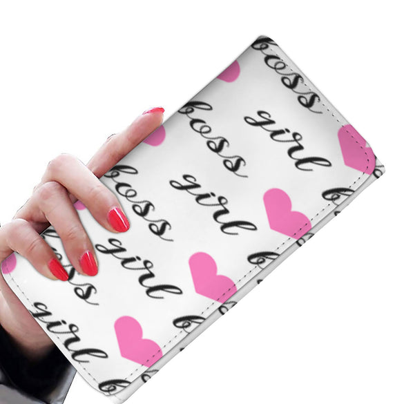 I Heart Being a Girl Boss Wallet - B Inspired Boutique