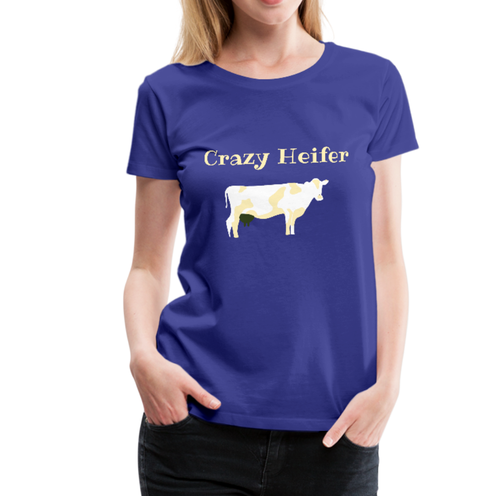 Crazy Heifer Ladies Tee - B Inspired Boutique