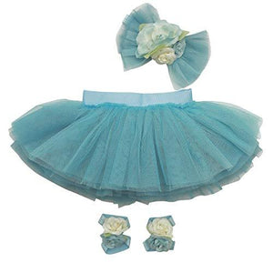 Newborn Girl Tutu Set Skirt with Headband Infant Outfit