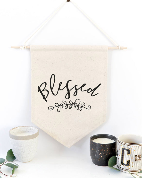 Blessed Hanging Wall Banner