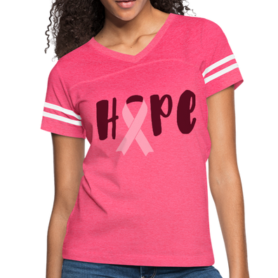 Hope Pink Ribbon Vintage Sport T-Shirt - B Inspired Boutique