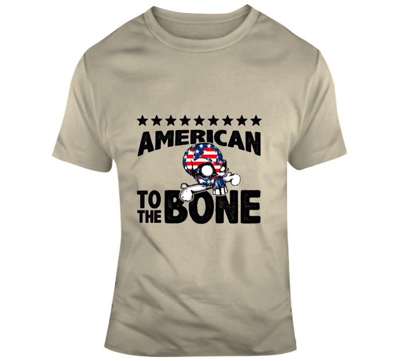 American To The Bone - Mens Tee T Shirt - B Inspired Boutique