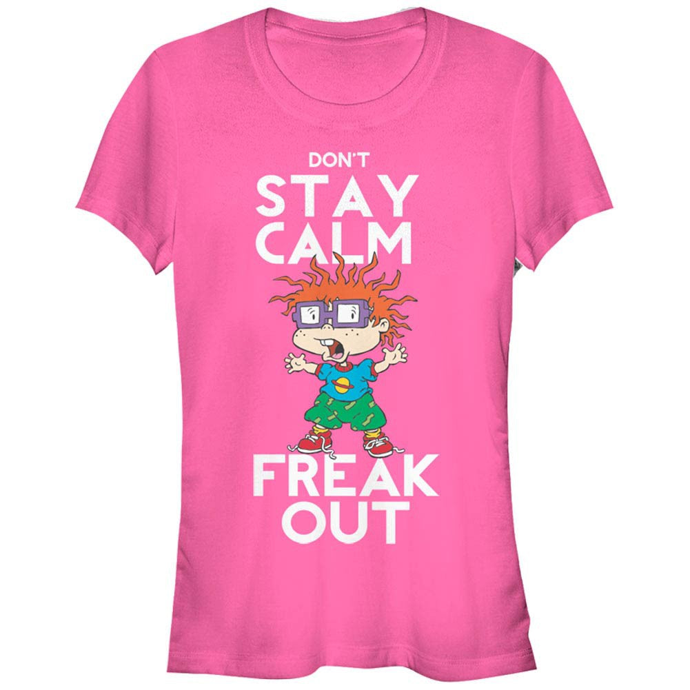 Rugrats Chuckie Freak Out Women's Tee Shirt - B Inspired Boutique