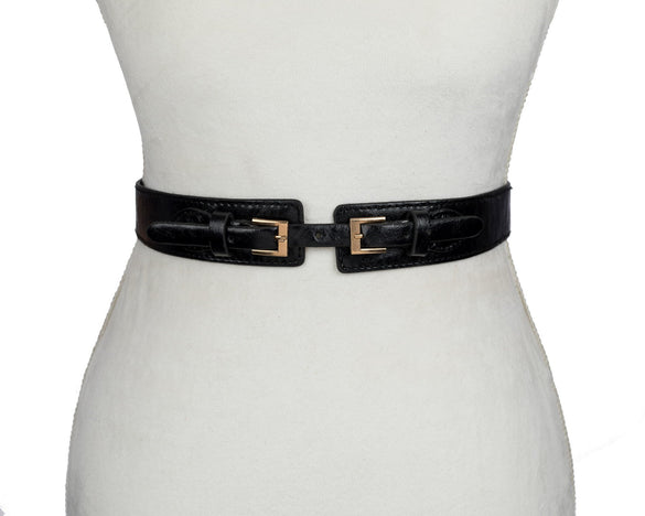 Double Buckle Belt - B Inspired Boutique