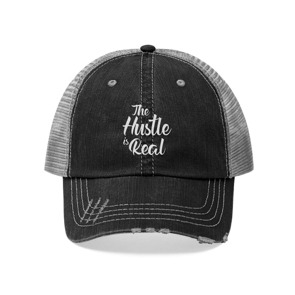 The Hustle is Real Unisex Trucker Hat