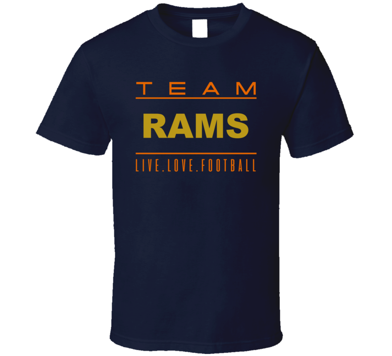 Team Rams T Shirt - B Inspired Boutique