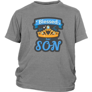 Blessed to be her SON Boy's Tee - B Inspired Boutique