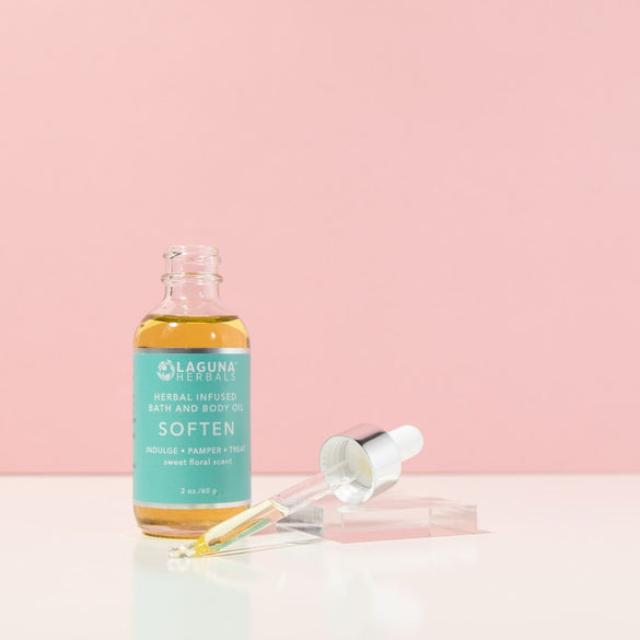 Soften Jasmine Rose Body Oil