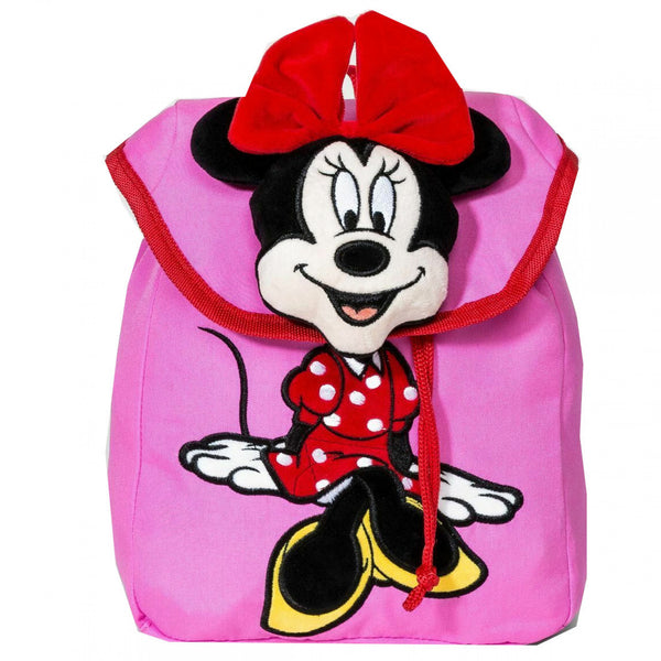 Disney Mickey Mouse & Friends Minnie Mouse Plush Backpack
